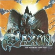 [Saxon The EMI Years 1985-1988 Album Cover]