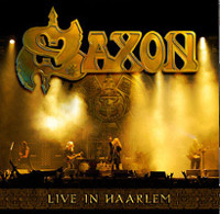 [Saxon Live In Haarlem Album Cover]