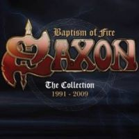 [Saxon Baptism Of Fire: The Collection 1991-2009 Album Cover]