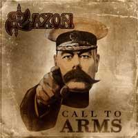 [Saxon Call To Arms Album Cover]