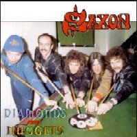 [Saxon Diamonds And Nuggets Album Cover]