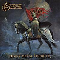 [Saxon Heavy Metal Thunder Album Cover]