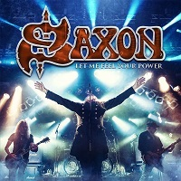 [Saxon Let Me Feel Your Power Album Cover]