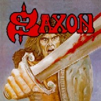 [Saxon Saxon Album Cover]