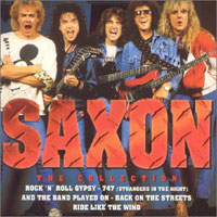 [Saxon The Collection Album Cover]