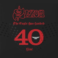 [Saxon The Eagle Has Landed - 40 Live  Album Cover]