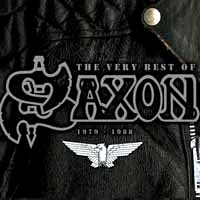 [Saxon The Very Best of Saxon: 1979-1988 Album Cover]