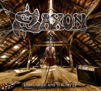 [Saxon Unplugged And Strung Up Album Cover]