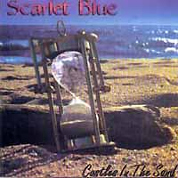 [Scarlet Blue Castles in the Sand Album Cover]