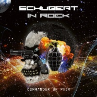 [Schubert In Rock Commander of Pain Album Cover]