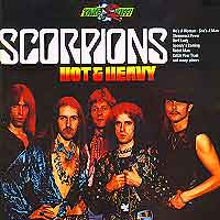[Scorpions Hot and Heavy Album Cover]