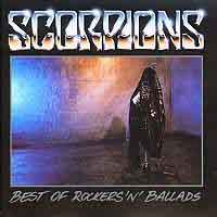 [Scorpions Best of Rockers 'N Ballads Album Cover]