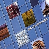 [Scott Allen Project What Lies Beyond Words Album Cover]