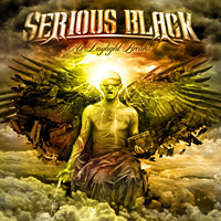[Serious Black As Daylight Breaks Album Cover]