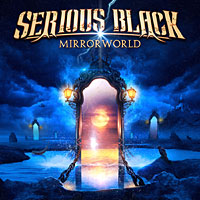 [Serious Black Mirrorworld Album Cover]