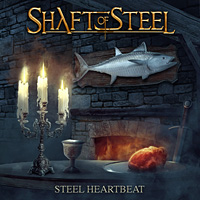 [Shaft of Steel Steel Heartbeat Album Cover]