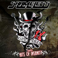 [Shameless Greatest Hits Of Insanity Album Cover]