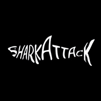 [Sharkattack Black Album Cover]