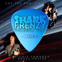 [Shark Frenzy Volumes 1 and 2 Album Cover]