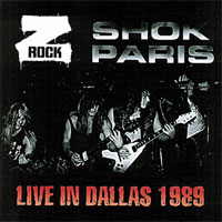 [Shok Paris Live in Dallas 1989 Album Cover]