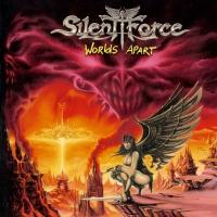 [Silent Force Worlds Apart Album Cover]
