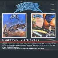 [Sinner Danger Zone/Touch of Sin Album Cover]