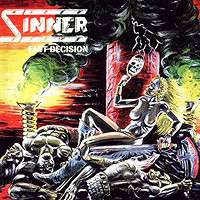 Sinner Fast Decision Album Cover