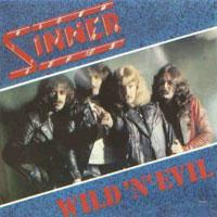 [Sinner Wild 'N' Evil Album Cover]