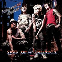 [Sins Of America Demos For The Deranged Album Cover]