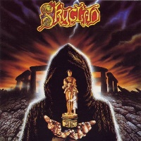 [Skyclad A Burnt Offering for the Bone Idol Album Cover]