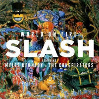 [Slash World On Fire Album Cover]