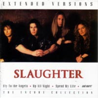 [Slaughter Extended Versions Album Cover]