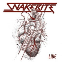 Snakebite 100 Desperate Hearts Live Album Cover