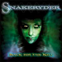 Snakeryder Back For The Kill Album Cover