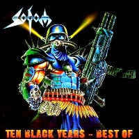 [Sodom Ten Black Years - Best Of Album Cover]
