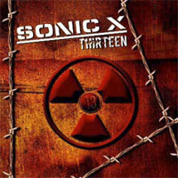 [Sonic X Thirteen Album Cover]