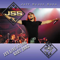 [Jeff Scott Soto Live at the Gods Album Cover]