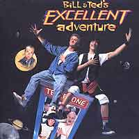 [Soundtracks Bill and Ted's Excellent Adventure Album Cover]