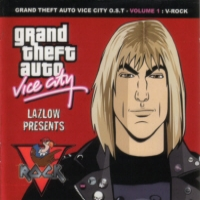 [Soundtracks Grand Theft Auto: Vice City O.S.T: Vol1: V-Rock Album Cover]