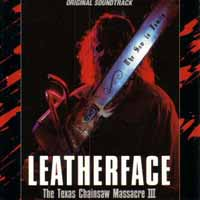 [Soundtracks Leatherface - The Texas Chainsaw Massacre III Album Cover]