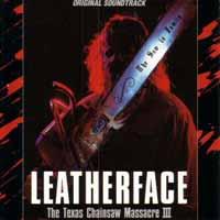 [Soundtracks Leatherface - The Texas Chainsaw Massacre III Album Cover]