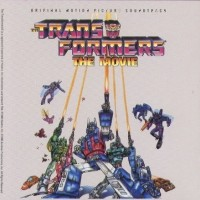 [Soundtracks Transformers - The Movie Album Cover]