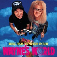 [Soundtracks Wayne's World Album Cover]