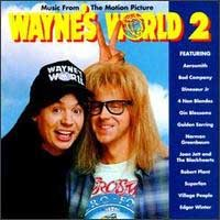 [Soundtracks Wayne's World 2 Album Cover]