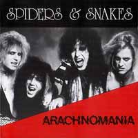 [Spiders and Snakes Arachnomania Album Cover]