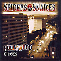 [Spiders and Snakes Hollywood Ghosts Album Cover]