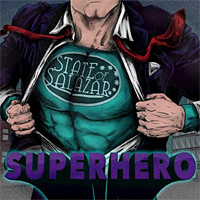 State of Salazar Superhero Album Cover