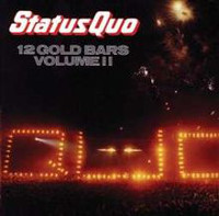 [Status Quo 12 Gold Bars Volume II Album Cover]