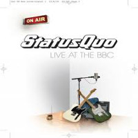 [Status Quo Live At The BBC Album Cover]