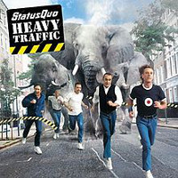 Status Quo Heavy Traffic Album Cover